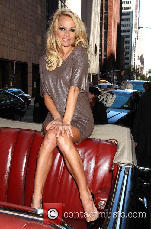 Pamela Anderson PETA honorary director Pam Anderson promotes...