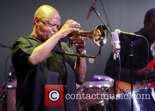 Performing at the 7th Annual Pan Jazz Festival...