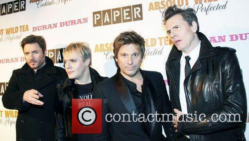 Duran Duran 2011 Paper Magazine Beautiful People Party...