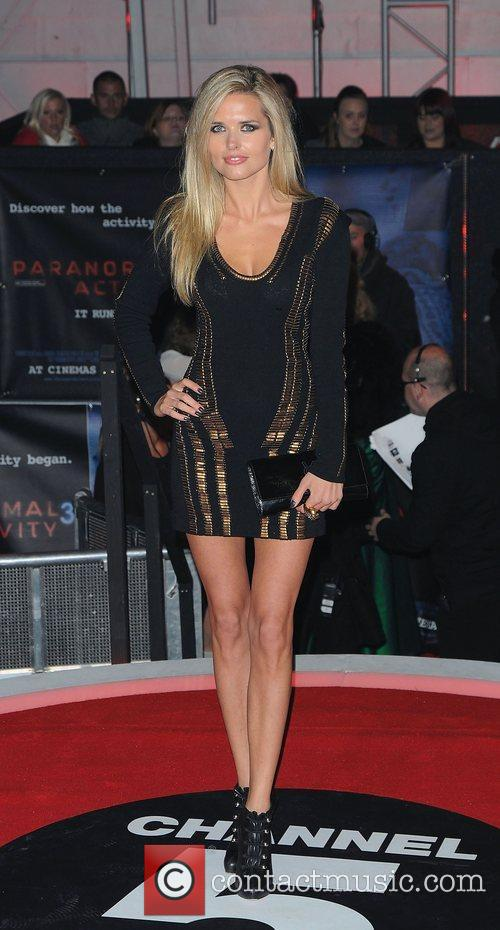 Agne Motiejunaite,  at the UK premiere of...