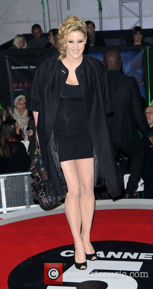 Bronagh Waugh,  at the UK premiere of...