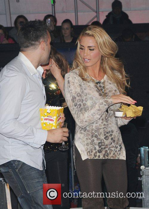 Dane Bowers and Katie Price,  at the...
