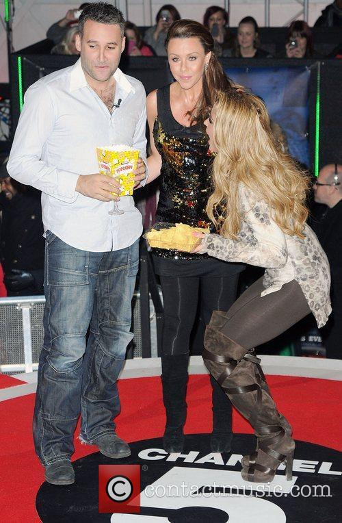 Dane Bowers, Katie Price, Michelle Heaton and Elstree Studio 8