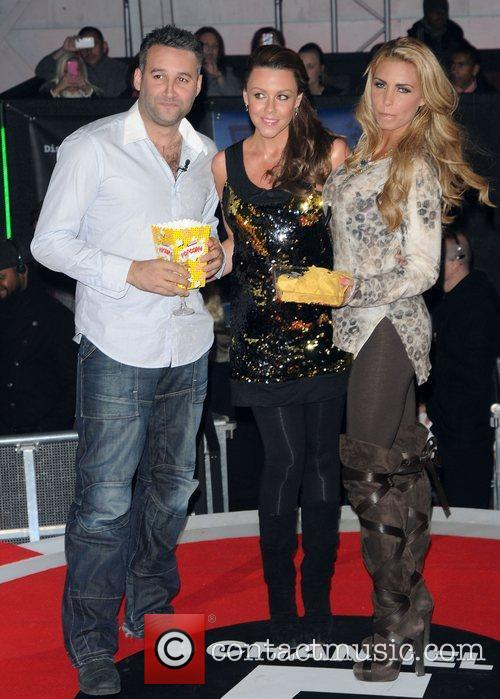 Dane Bowers, Katie Price, Michelle Heaton and Elstree Studio 6
