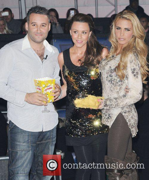 Dane Bowers, Katie Price, Michelle Heaton and Elstree Studio 11