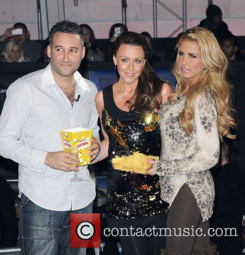Dane Bowers, Katie Price, Michelle Heaton and Elstree Studio 3