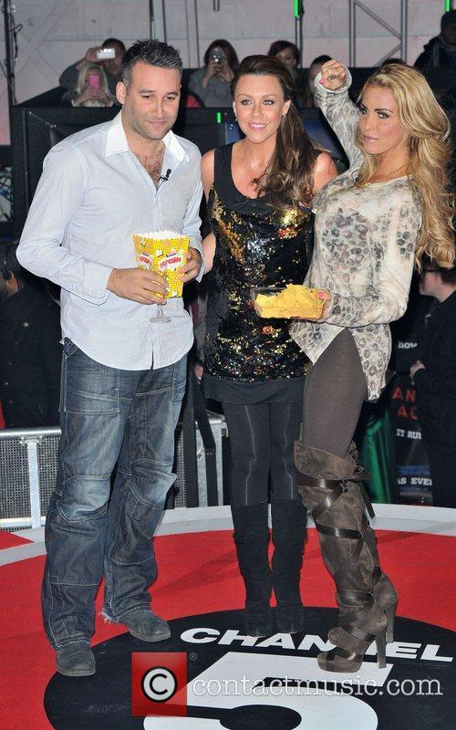 Dane Bowers, Katie Price, Michelle Heaton and Elstree Studio 5