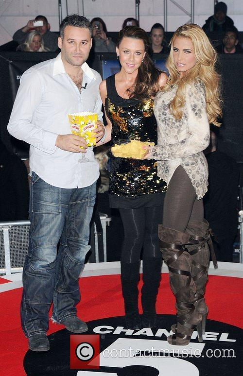Dane Bowers, Katie Price, Michelle Heaton and Elstree Studio 1