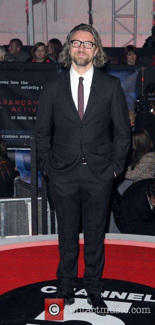 Guest,  at the UK premiere of Paranormal...