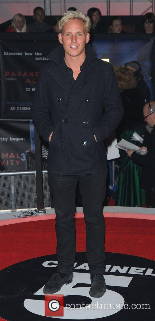 Jamie Laing,  at the UK premiere of...