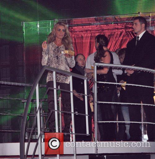 Katie Price and Elstree Studio 7