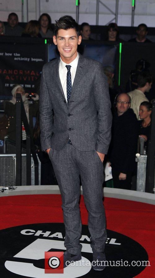 Kieron Richardson,  at the UK premiere of...