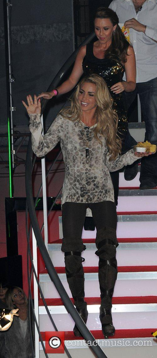 Michelle Heaton, Katie Price and Elstree Studio 2