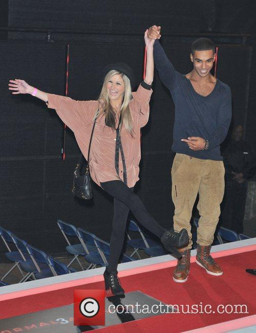 Nikki Grahame and Lucien Laviscount,  at the...