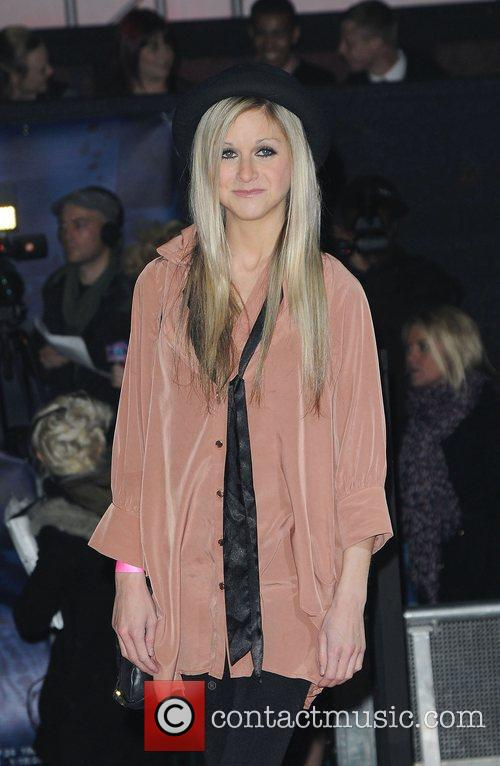Nikki Grahame,  at the UK premiere of...