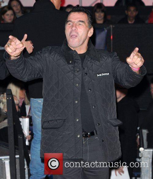 Paddy Doherty,  at the UK premiere of...