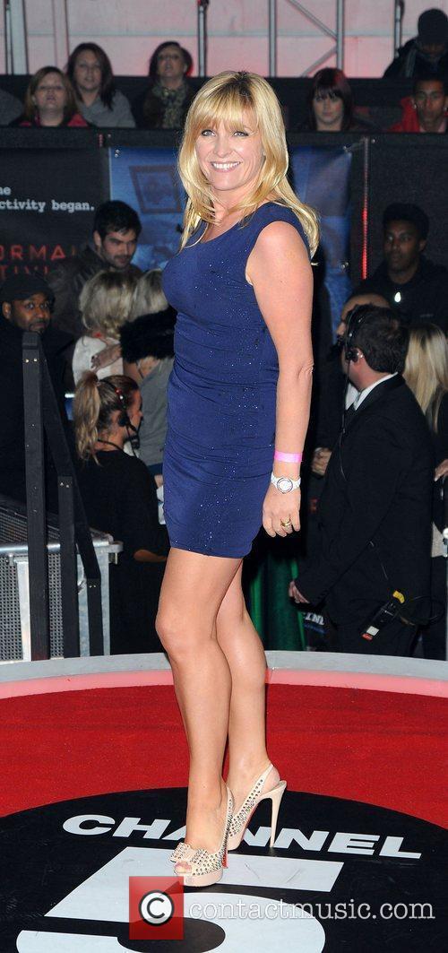 Yvie Burnett,  at the UK premiere of...