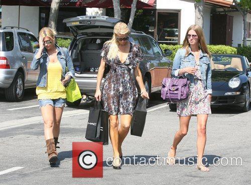 Paris Hilton and Nicky Hilton leaving Malibu Country...