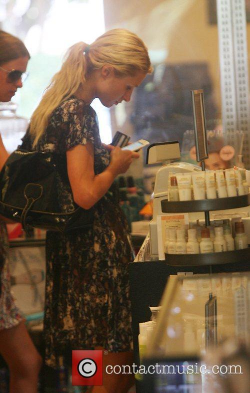 Paris Hilton and Nicky Hilton shopping at Malibu...
