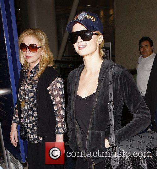 Paris Hilton and her Mother Kathy Hilton arrive...
