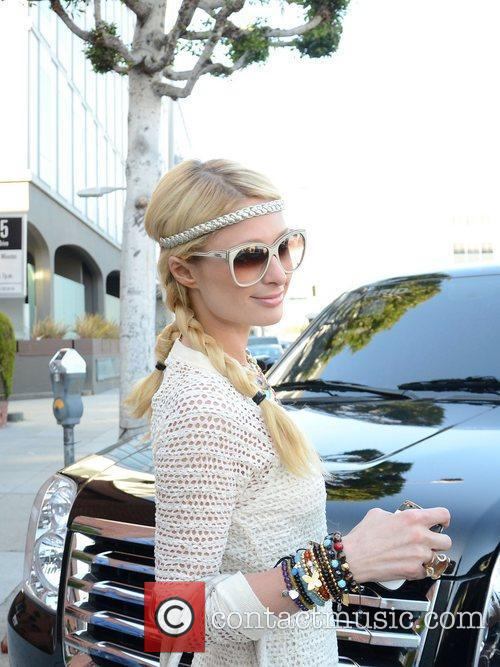 paris hilton fresh back from her trip 3614449