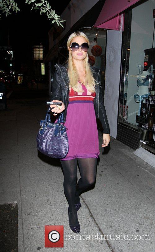 Paris Hilton heads to The Pain Relief Centre...