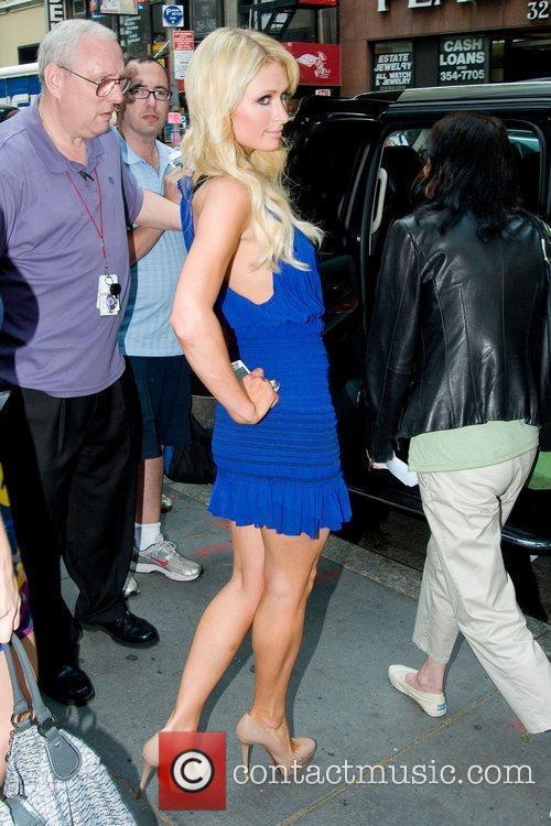 paris_hilton_3 Paris Hilton leaving 'Today Show' New York...