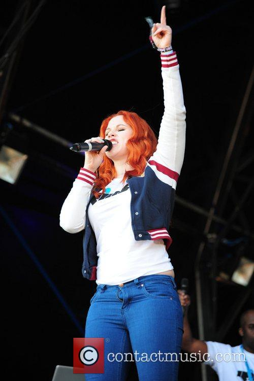 Katy B Performances from the Parklife Weekender held...
