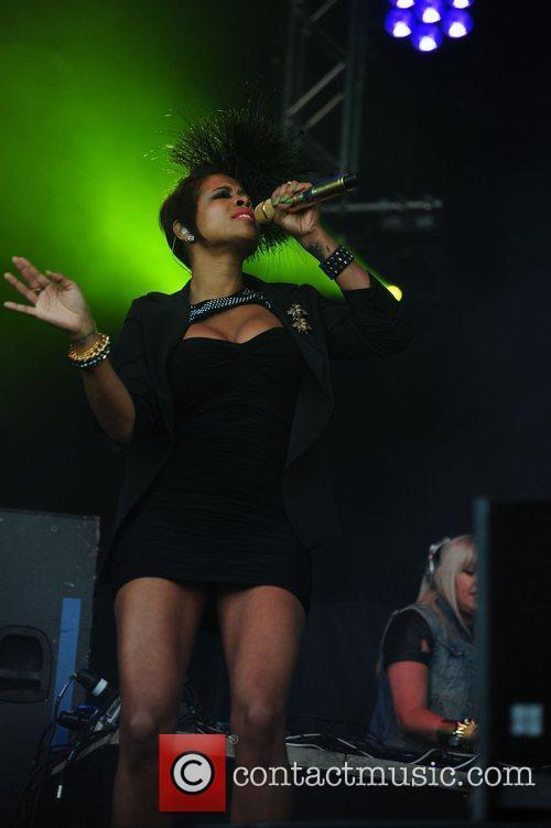 Kelis Performances from the Parklife Weekender held at...