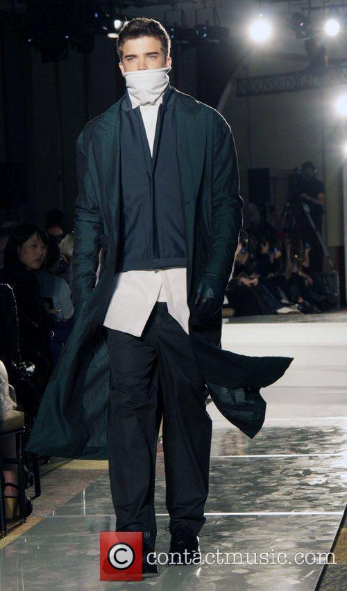 Parson 2011 BFA Fashion Show held at Pier...