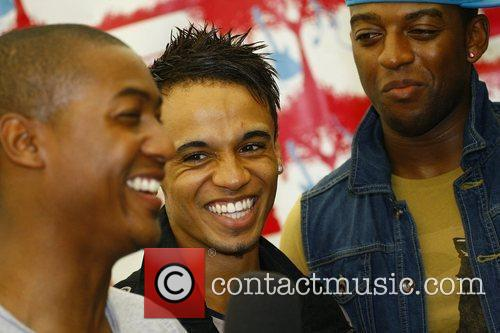 Aston Merrygold of JLS Party in the Park...