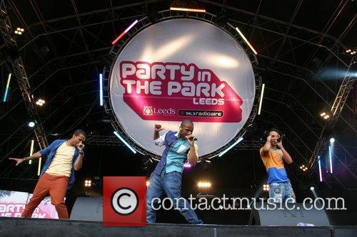 JLS Party in the Park Leeds, England
