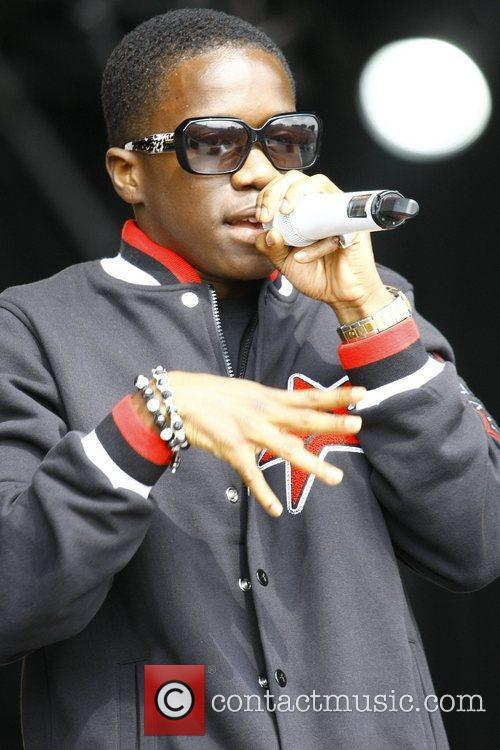 Tinchy Stryder Party in the Park Leeds, England