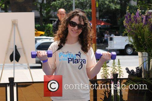 Jenny Craig's 'Party in the Plaza' event, held...
