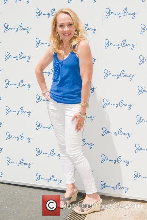Nicole Sullivan Jenny Craig's 'Party in the Plaza'...