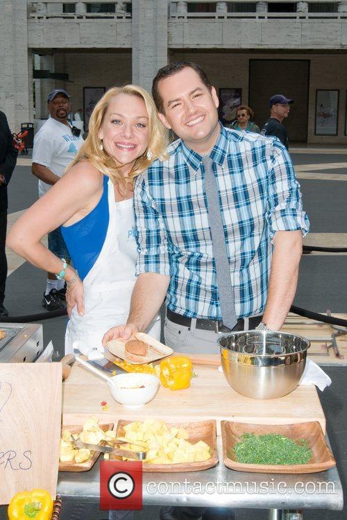Nicole Sullivan and Ross Mathews Jenny Craig's 'Party...