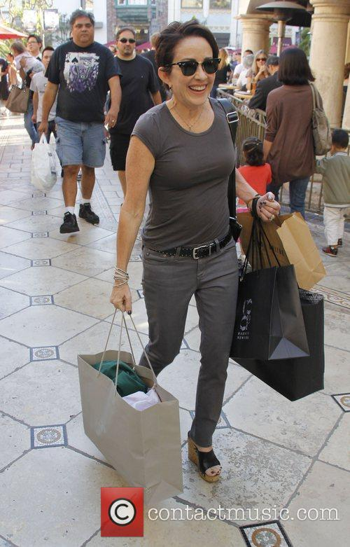 Out shopping at The Grove