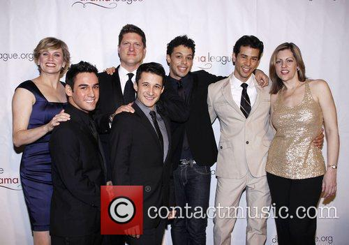 Cady Huffman, Christopher Sieber and cast The Drama...
