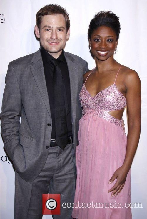 Chad Kimball and Montego Glover The Drama League's...