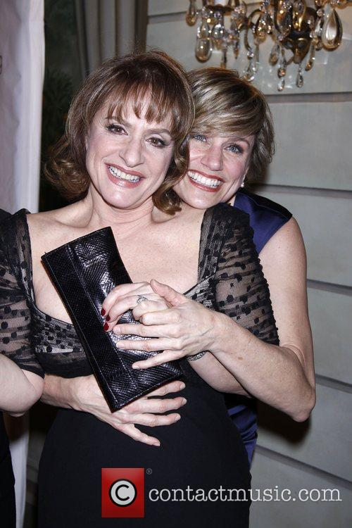 Patti LuPone and Cady Huffman The Drama League's...