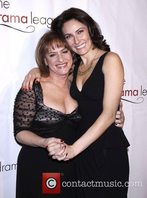 Patti LuPone and Laura Benanti The Drama League's...
