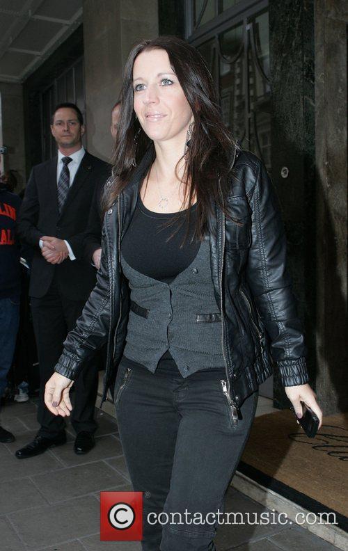 The mother of pop sensation Justin Bieber, leaving...