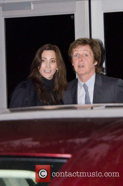 Sir Paul Mccartney and Nancy Shevell 5