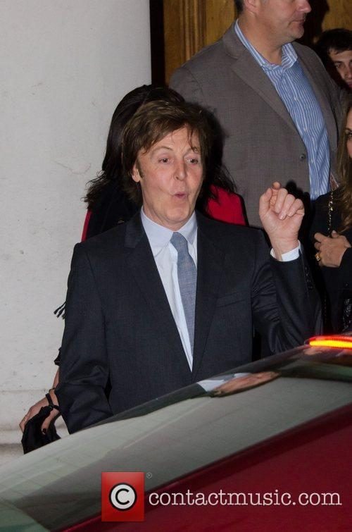 Sir Paul McCartney and NANCY SHEVELL 12