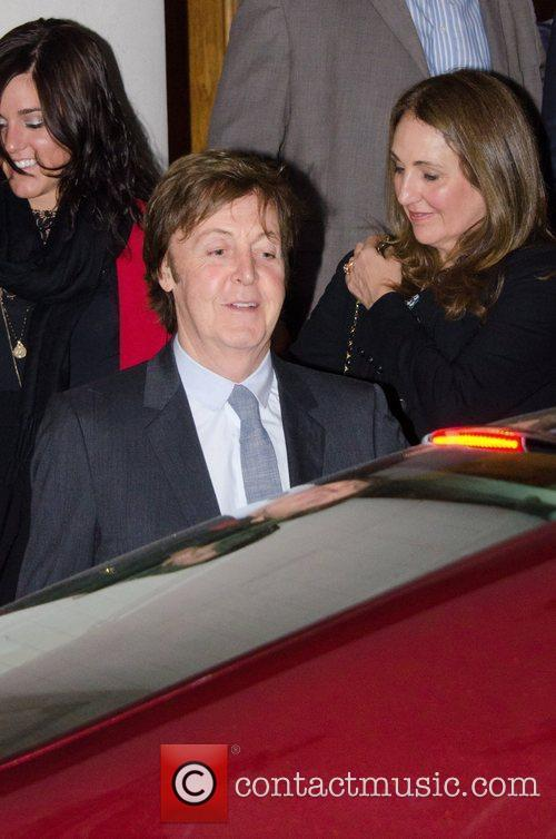 Sir Paul McCartney and NANCY SHEVELL 14