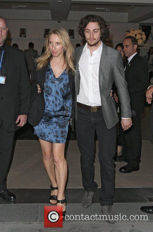 Sam Taylor-wood and Aaron Johnson 1