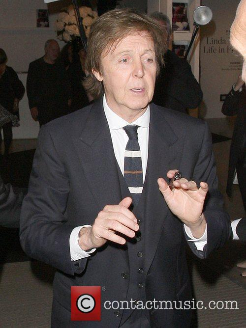 Paul McCartney,  at the book launch of...