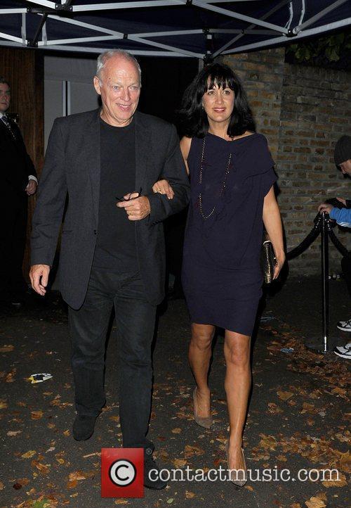 David Gilmour and Polly Samson,  at Paul...