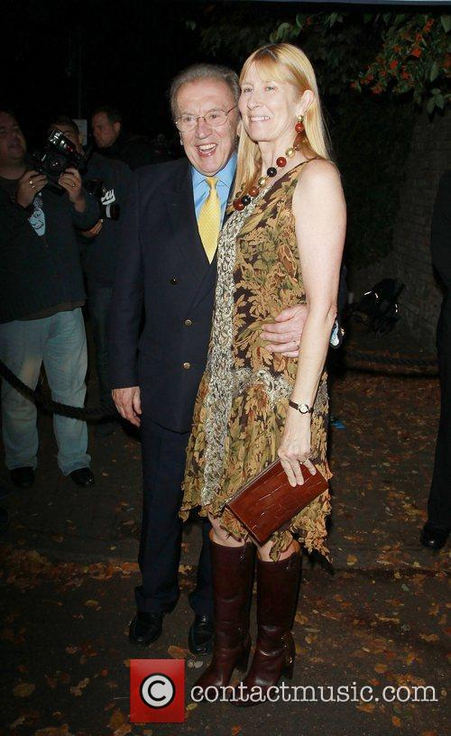 Sir David Frost and Carina Frost,  at...