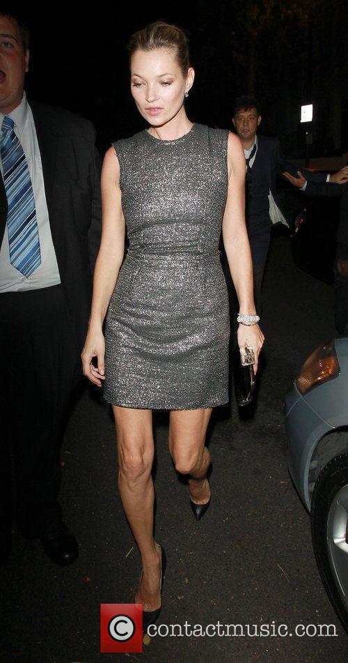 Kate Moss,  at Paul McCartney and Nancy...
